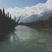 an iPhone capture of this majestic mountain river