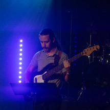 guitarist on stage