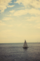 sailboat on the water