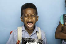 kids screaming for back to school