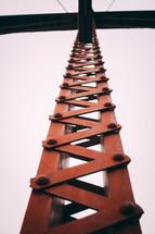 metal support beam