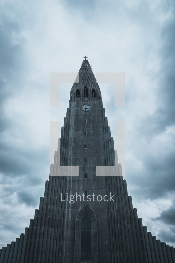 tall cathedral tower