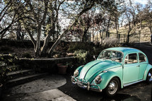 old Volkswagen Beetle car