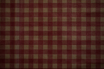 A red and tan checkered pattern