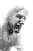 Sculpture of Jesus.