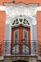 grand ornate entrance doorway