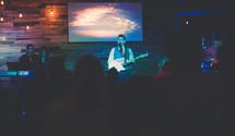 musicians at a worship service