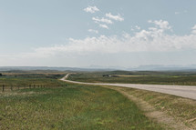 highway through the plains