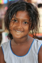 Lower caste Hindi girl