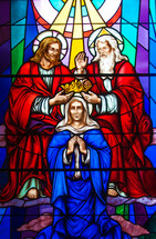 Mary Crowned as Queen of Heaven