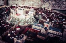 miniatures city model