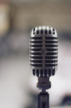 Re-make of a vintage 1950s microphone.