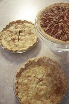 pies and desserts