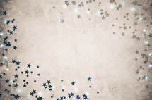 stars and fairy lights background