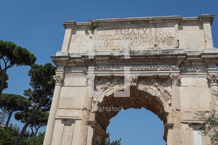 Arc of Titus in Rome