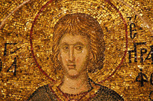 Early Christian mosaic, Chora Church of the Holy Savior AD 527-65.