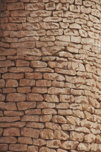 Loose fit stone wall