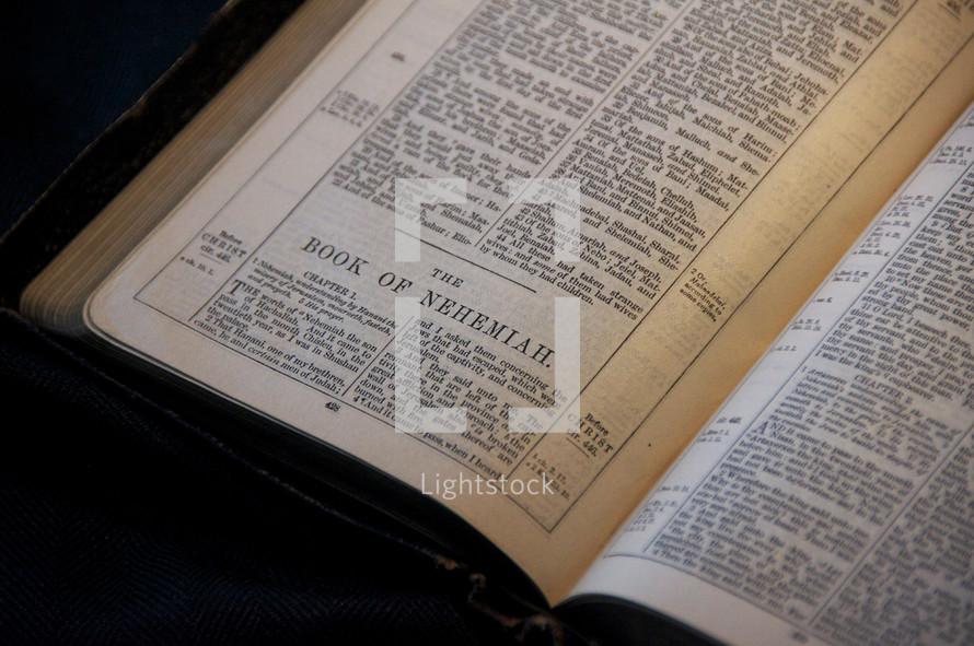 Old Testament Book of Nehemiah