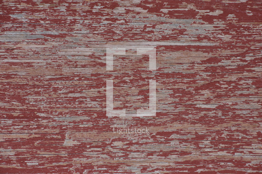 weathered red wood background