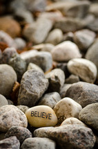 believe and rocks