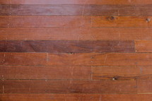 Red brown wooden floor