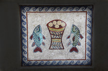 Five Loaves & Two Fishes Mosaic