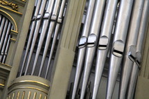 Cathedral pipe organ