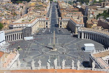 St Peter's Square, Vatican City, Rome