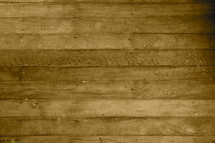 Textured wooden floor made from reclaimed wood