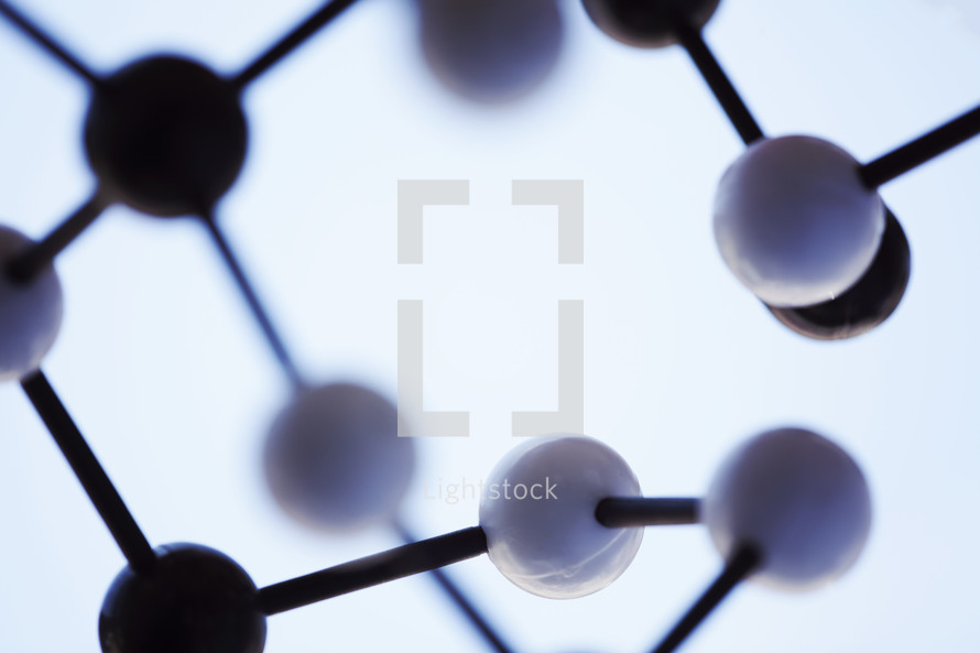 chemical structure model
