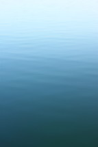 Still water.