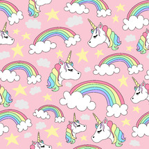 unicorn pattern background