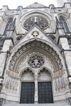 St Patrick's cathedral entrance