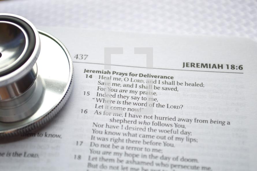 Jeremiah Prays for Deliverance
