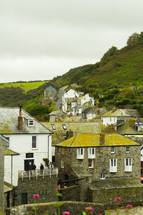 homes along a mountainside