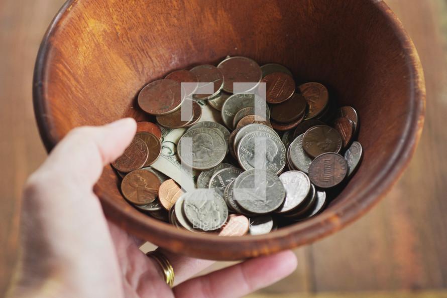 bowl of change