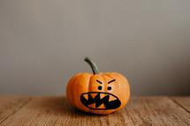 angry little pumpkin