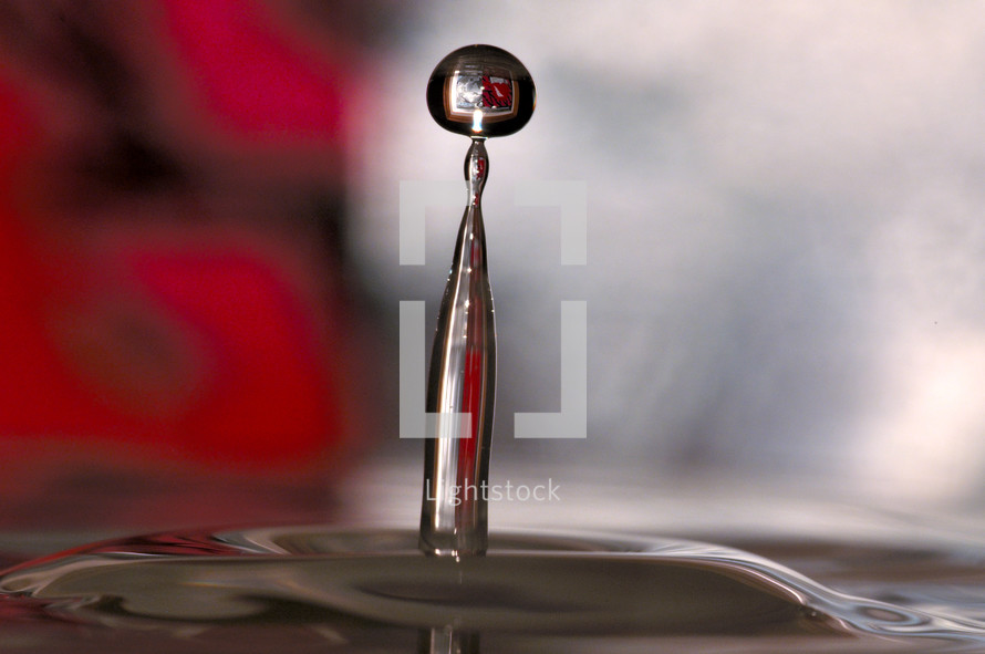Water Droplet.
