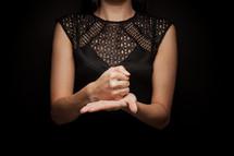 help - sign language
