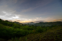 Morning in  a valley near Limbe, Haiti.