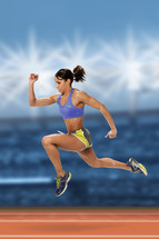 female track star