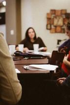 Women's Bible study.