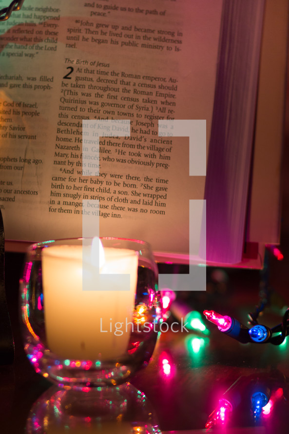 the birth, birth of Jesus, Luke 2, Luke 2:6, Mary, candlelight Christmas story