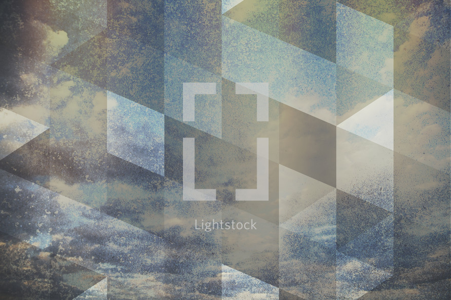 abstract sky and pattern background