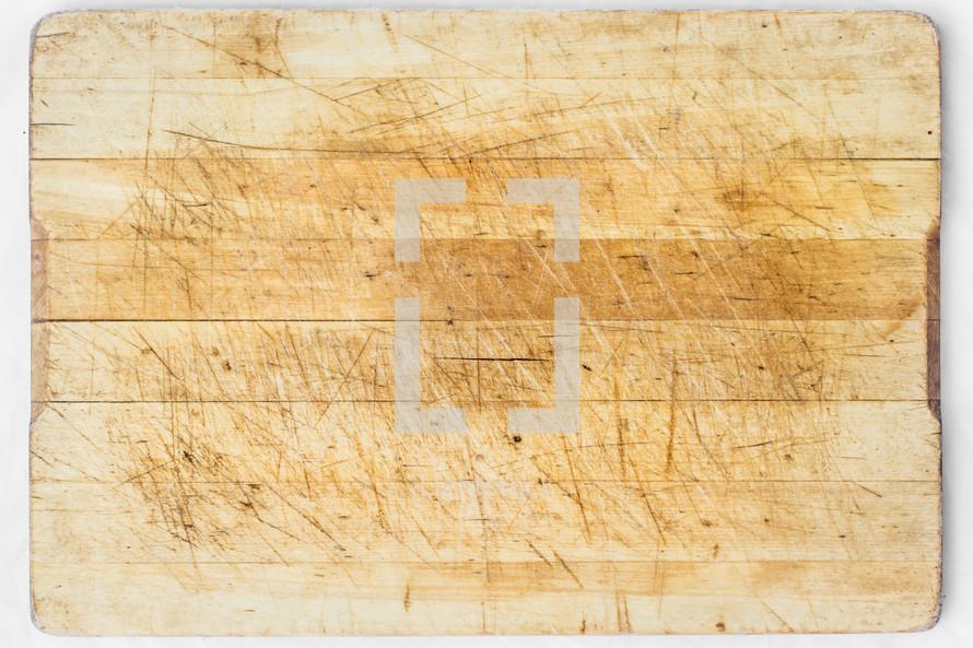 A cutting board.