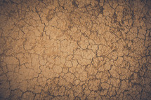 parched cracked earth