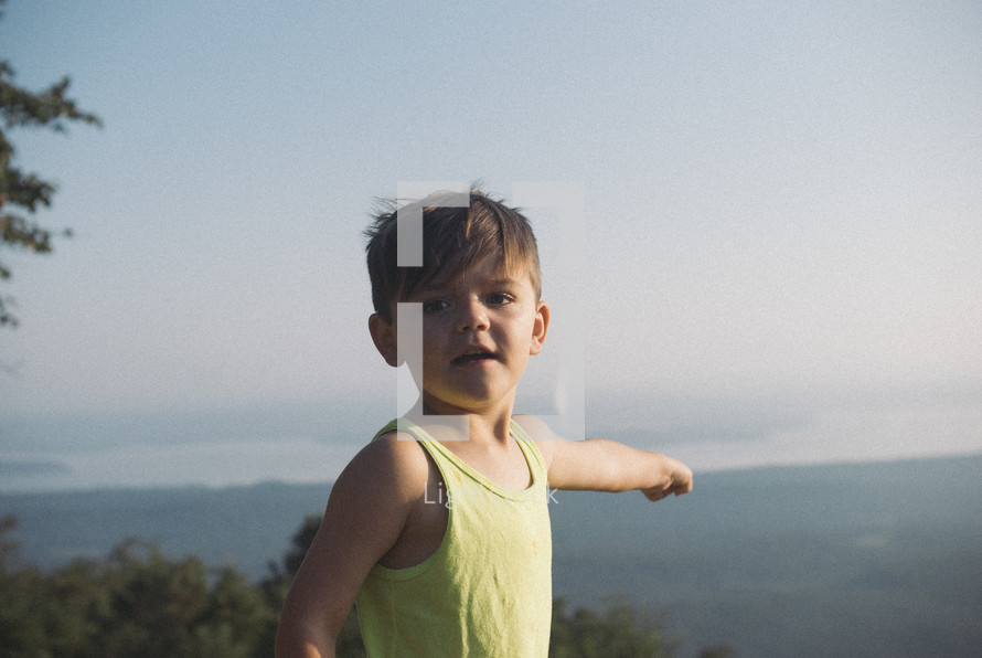 boy child outdoors