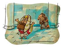 Pharisee, taxes, biblical figure, biblical scene