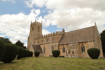 Church in The Cotswolds Villages, England