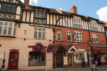 shops in Stratford Upon Avon, England